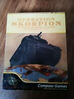 Wargame Operation Skorpion Compass Games neuf unpunched