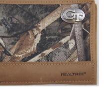 ZEP-PRO Georgia Tech Yellow Jackets Realtree Camo Bifold Wallet TIN GIFT BOX