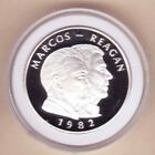 Philippines 1982 Marcos - Reagan PROOF Original Capsule KM#235, ONLY 250 Mintage