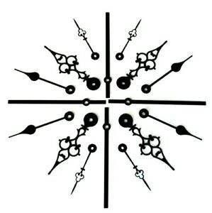 New Replacement Quartz UTS Hermle Kienzle Junghans Euroshaft Metal Clock Hands