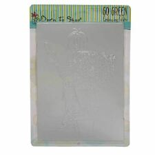 Go Green Green Goddess A6 Universal 3D Detailed Card Embossing Folder