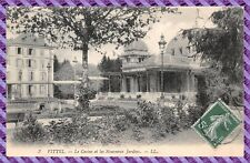 Postcard - Vittel - le Casino and all New Gardens