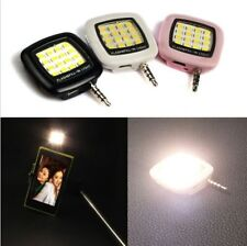 3.5mm Smart Selfie 16 LED Camera Flash Light For Android iPhone Huawei Xiaomi