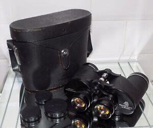 ASAHI PENTAX 8x40 Wide Field 9.5 Binoculars . Quality Japanese Made .