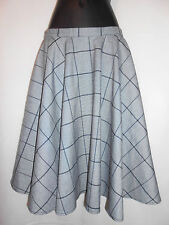 New Hazel Hazel grey checkered skirt S