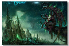"""World of Warcraft Game Online Silk Wall Poster Picture Decor 36""""x24"""" MOP074"""