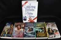 Lot of 6 Christine Feehan Novel Books 1 Hardcover 5 Paperback Paranormal Romance