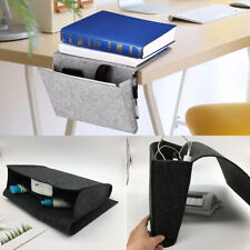Bedside Storage Organizer Couch Remote Control Caddy Bed Table Holder Pockets Us