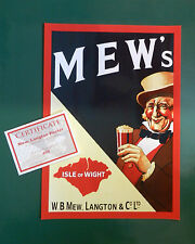 MEW LANGTONS - ISLE OF WIGHT LIMITED EDITION POSTER