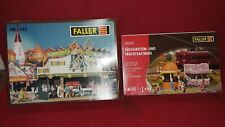 Faller Ho scale Concession stand kits LOT OF 2 NEVER OPENED