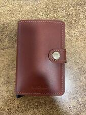 NEW Secrid Mini Wallet Original Leather
