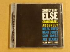 CD / CANNONBALL ADDERLEY – SOMETHIN' ELSE