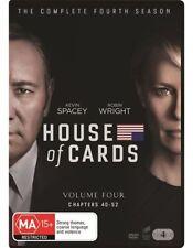 House Of Cards : Season 4 : NEW DVD