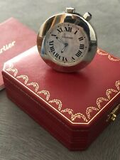 Cartier travel alarm  , table clock