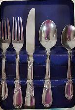 Farberware Laurel 5 Piece Place Setting Knife Spoon Dinner Salad Fork Teaspoon