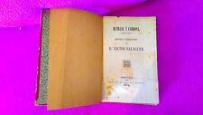 MANRESA Y CARDONA, HIST. TRADIC+EXP. SAN MIGUEL DEL FAY, D. VICTOR BALAGUER 1850