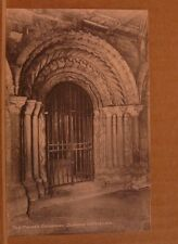Unposted Postcard Durham Cathedral, The prior's doorway