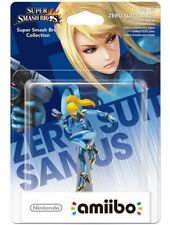 Amiibo - Super Smash Bros. Collection Figur: Zero Suit Samus (NEU & OVP)