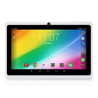 """iRULU eXpro 7"""" Tablet PC Android 4.4 A33 Quad Core 8GB 1024*600 Touch PAD White"""
