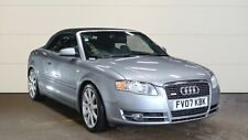 "07 AUDI A4 CABRIOLET 2.0 TFSI S LINE, 18"" ALLOYS, LEATHER, P/SENSORS, LOVELY"