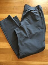 Under Armour Mens UA Fusion Pants Size 36 Nwt Gray 1331851-012 New