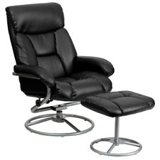 Flash Furniture Black Bonded Leather Recliner, Black - BT-70230-BK-CIR-GG