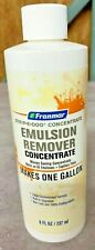 Franmar Strip E Doo Concentrate Emulsion Remover Makes 1 Gal