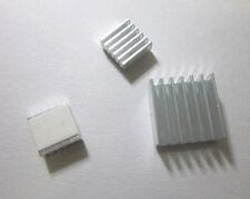 Aluminum Heatsink x3pcs - Protect OverClocking Raspberry Pi 2 & Model B, B+. A+