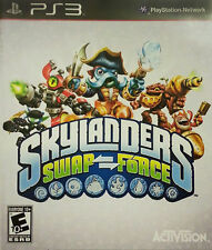 Skylanders Swap Force Video Game Only PS3 (Sony Playstation 3, 2013)