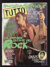 TUTTO 7/1997 LIGABUE RADIOHEAD VASCO U2 NEK OASIS + POSTER BON JOVI PINO DANIELE