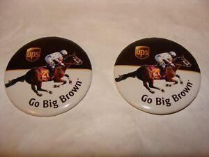 Kentucky Derby Pins, Buttons. Set of 2. New