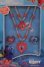 Jewelry Set Disney FINDING DORY Necklace Bracelet Rings
