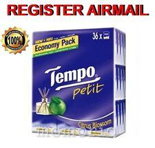36 packs Citrus Blossom Tempo Petit Pocket Tissues Paper 4 ply handkerchiefs