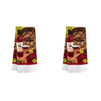 2X Home Collection Wine-Themed Kitchen Towels, 15x25 in. BRAND NEW
