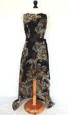 New Look Chiffon Sleeveless Women's Round Neck Dresses