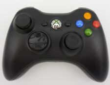 Glossy Black XBOX 360 WIRELESS CONTROLLER (Microsoft, 2010) Tested & WORKS!