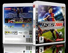(PS3) Pro Evolution Soccer 2009 (PES 2K9) (G) (Football) Guaranteed, Cleaned.