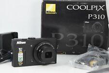 Nikon COOLPIX P310 16.1MP Digital Camera - Black mint /w box
