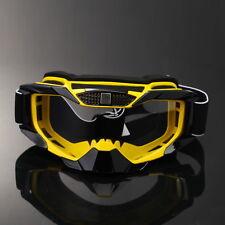 MOTO-X MX ATV Motorcycle Bike Riding Glasses Goggles PC Clear Lens
