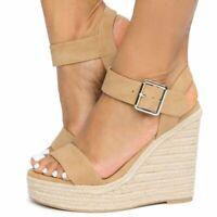 Espadrille Platform Heel Sandal -Burst-s