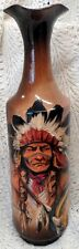 RICK WISECARVER ABSOLUTELY GORGEOUS NATIVE AMERICAN INDIAN HAND PAINTED VASE