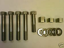 Norton Commando Cylinder Head Bolts, Nuts & Washers Set in stainless steel