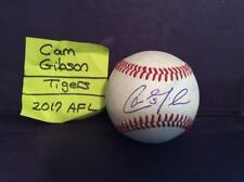 CAM GIBSON SIGNED BASEBALL/TIGERS PROSPECT/MICHIGAN ST/SON of KIRK GIBSON