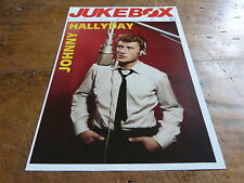 JOHNNY HALLYDAY - Mini poster couleurs N°11 !!! JUKEBOX !!!