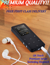 NEW MP4 1.8 INCHES TOUCH SCREEN MP3 BLUETOOTH MUSIC PLAYER 8GB MEMORY UPTO 128
