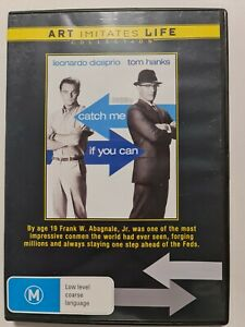 Catch Me If You Can - Art Imitates Life - (DVD, 2009) PAL REGION 4 Like New