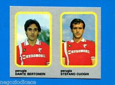 CALCIO FLASH '86 Lampo - Figurina-Sticker n. 427 -BERTONERI-CUOGHI -PERUGIA-New