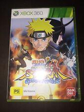 Naruto Shippuden Ultimate Ninja: Storm GENERATIONS (Xbox 360 Aus Game)