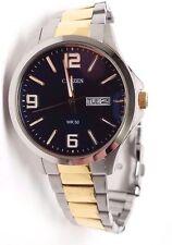 Citizen Men's BF2004-57L Silver Stainless-Steel Quartz Watch BAND DETACHED!!!