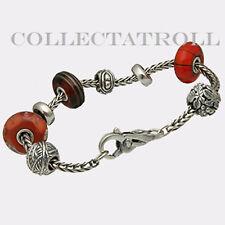 "Authentic Trollbeads Fall Fashion Starter Bracelet  7.5""  Retired  15-116 *SALE*"